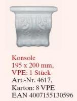 konzol 195x200