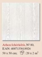 mennyezetburkoló Athen fehérkőris