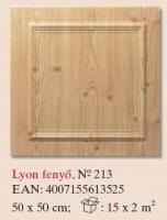 mennyezetburkoló Lyon fenyő