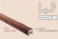 gerenda Tirol világostölgy 20x13cm, 3m